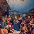 Adoration Of The Shepherds by Agnolo di Cosimo Bronzino