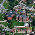 Aerial Of Woodburn Hall Surrounding Buildings Downtown Campus Area by Dan Friend