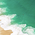 Aerial View Of Beach by David Lopes