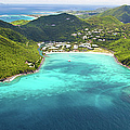 Aerial View Of Marina And Resort In by Cdwheatley