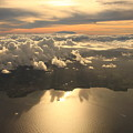 Aerial View Sunset Over Antigua In The by Achim Baque