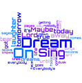 Aerosmith - Dream On Lyrical Cloud by Susan Maxwell Schmidt