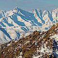 Afghanistan Hindu Kush Snowy Peaks by SR Green