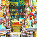 African Art Shop by Dominic Piperata