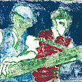After Billy Childish Painting Otd 33 by Artist Dot