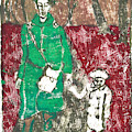 After Billy Childish Painting Otd 45 by Artist Dot
