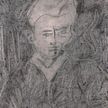 After Billy Childish Pencil Drawing 2 by Artist Dot