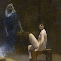 After The Bath 2 by Jean-Leon Gerome
