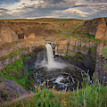 Afternoon Light At Palouse Falls by Kristen Wilkinson