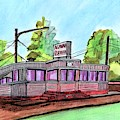 Agawam Diner by Paul Meinerth