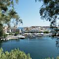 Agios Nikolaos Crete by Lynn Bolt