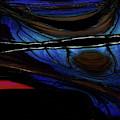 Aile De Papillon Bleu by Carel Schmidlkofer