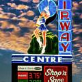 Airway Drive-in Vintage Neon Sign by Robert FERD Frank