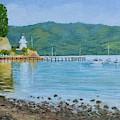 Akaroa Yacht Club by Dai Wynn