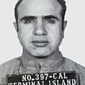 Al Capone Mugshot 1939 - T-shirt by Daniel Hagerman