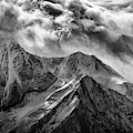 Alaskan Splendor In Black And White by Rick Berk