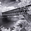 Albany Covered Bridge 7640 by Dan Beauvais