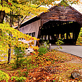 Albany Covered Bridge Near Conway, New by Danita Delimont