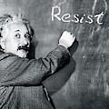 Albert Einstein Resistance by Susan Maxwell Schmidt