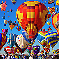 Albuquerque Balloon Fiesta by Bill Heinsohn