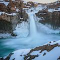 Aldeyjarfoss Waterfall Iceland IIi by Joan Carroll