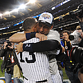 Alex Rodriguez And Yankee Captain Derek by New York Daily News Archive