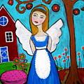 Alice In Wonderland Angel by Pristine Cartera Turkus