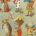 Alice In Wonderland Characters by John Tenniel