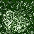 Alien Bloom 25 by Amy E Fraser