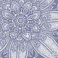 Alien Bloom 27 Modest Mauve by Amy E Fraser