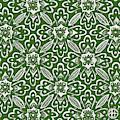 Alien Bloom 29 Plasticine Green by Amy E Fraser