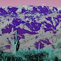 Alien Colors On Mount Lemmon by Chance Kafka