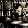 Alien Interrogation Bw by Bob Orsillo