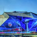 All Dressed Up Mercedes Benz Stadium Atlanta Nfl Super Bowl 2019 Art by Reid Callaway