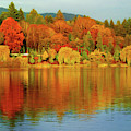 All The Colors Of An Autumn Day Impressionism by Isabella Howard