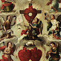 Allegory Of The Holy Eucharist by Miguel Cabrera