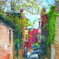 Alleyway by Gerlinde Keating - Galleria GK Keating Associates Inc