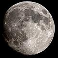 Almost Full Moon by Manfred konrad