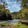 Along Oconaluftee River Trail by Susie Weaver