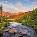 Alpenglow Creek by Darren White