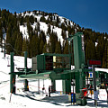 Alta Wildcat Chairlift by Adam Jewell