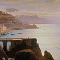 Amalfi Coast By William Stanley by David David Gallery
