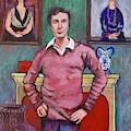 Amedeo Modigliani by Tom Roderick