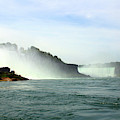 American Falls Showing The Horseshoe Falls by Doc Braham
