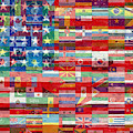 American Flags Of The World by Tony Rubino
