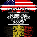 American Grown With Belgian Roots by Jose O