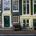 Amsterdam Bike Scene by Tom Reynen