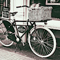 Amsterdam Bike With Cheese by Georgia Fowler