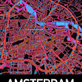 Amsterdam City Map by Helge