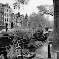 Amsterdam House Boat by Georgia Fowler